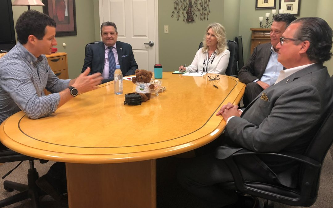 Congressman Visits Espy Services